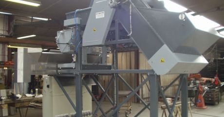 Twin weigher